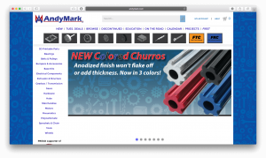 AndyMark - General place to buy components for most robots