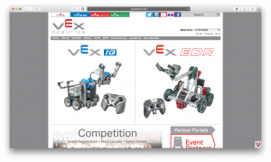 VEX Robotics - Website for all forms of robotics